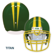 Titan Helmet with stripe